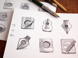 Mac Icon Sketching by Ramotion