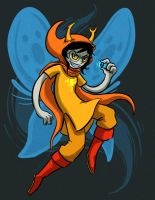 Vriska: Have ALL the luck by pettyartist