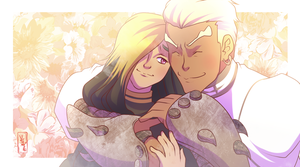 :Commission: Amethyst and Gamagori by YAMsgarden