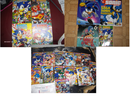 My Sonic's Collection : Books by Joellinathedog