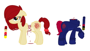 Creepy Pony Adopts! //OPEN// by SNlCKERS