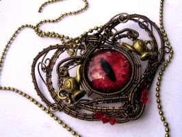 Alice Returns to Madness Inspired Choker Necklace by LadyPirotessa
