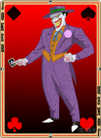 A Joker in the sleeve by TheMadSoldier