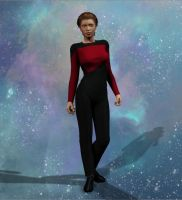 TNG Season 1 Uniforms by mylochka