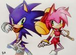 Sonic-amy by Ztreng7H