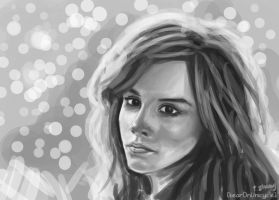 Emma Watson by bearOnUnicycle
