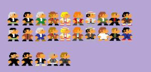 8-Bit Doctors and Masters by BadWolf42