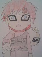 Sad Chibi Gaara by Britney151