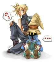 Cloud and Vivi by Cah-Poszar