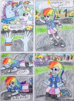 Rainbow Dash Comic by jothecatlover