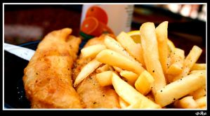 fish n chips by iraqiguy
