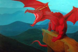 Red Dragon by R-Valle
