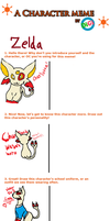 Dual Meme: Espeon and Me by Zelda-Wolfy