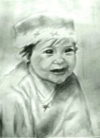 A portrait of a Baby by CnickArach