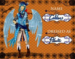 L-T: Calder Costume Contest Entry by ShikittyShiki