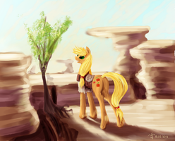 Applejack by Dalagar