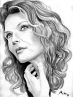 Michelle Pfeiffer by qshera