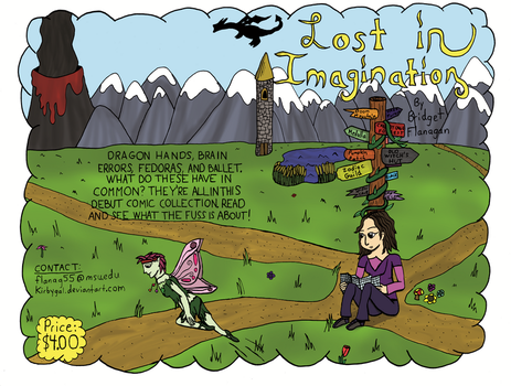 Lost in Imagination Book Cover by Kirbygal