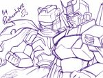 TF - The Knight n The Assassin by plantman-exe