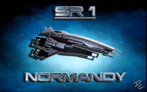 Mass Effect SR1 Normandy by DoggyCorner