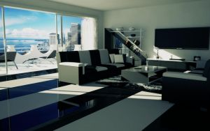 Living room BW-PS by slographic