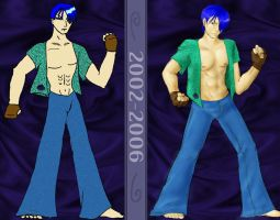 Adrian 2002 and 2006 by Mipeltaja