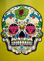 Skull by LucyLoveColours