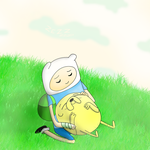 adventure time moment of peace by kazaret