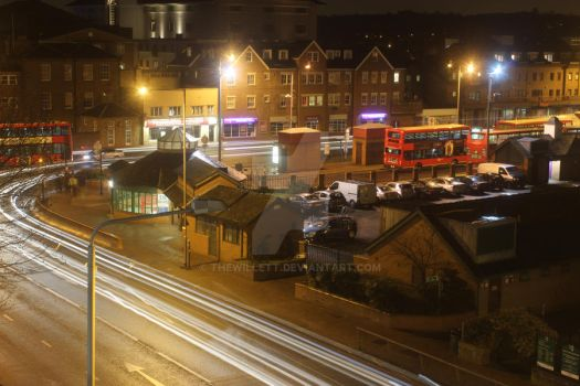 long exposure of Kingston 2 by TheWillett