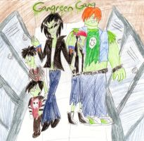 Gangreen Gang in Townsville High by PurfectPrincessGirl