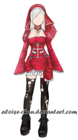 [SOLD]  Vampire Outfit Adoptable by Aloise-chan