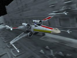 SW X-wing Attack Run by Spydraxis01