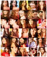 30 DEMI, MILEY AND SEL ICONS. by notteardrops