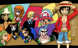 One Piece Crew by PoOfyPink