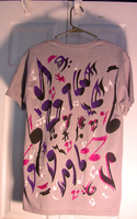 Multicolor music notes shirt-3 by Orbcreation