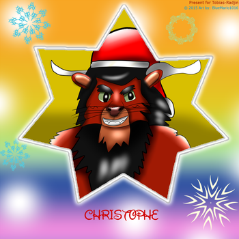 Christophe Holiday Star by BlueMario1016