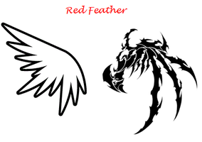 Red Feather Teaser by Leopardclawthecat