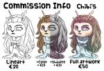 Commission Info Chibis by Darkashter