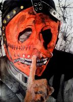 Slipknot - Chris Fehn by RingorrDonn