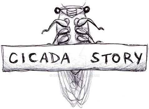 Cicada Story Mascot by Ceruulean