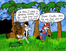 Ozy And Millie Get 'Lost' by Whatupwidat
