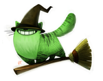 Day 584. Sketch Dailies Challenge - Wicked Witch by Cryptid-Creations