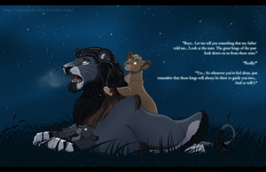 Under The Stars by Mganga-The-Lion