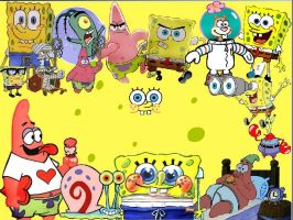 SpongeBob SquarePants by model-baby