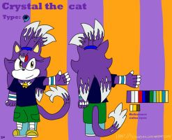 Crystal the cat by Miles-The-Sniper