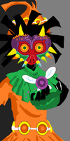 skull kid by jason-the-13th