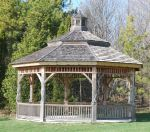 Gazebo Stock by DH-Textures