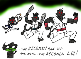 Gift to Keco - The Kecomen by Frogwalker