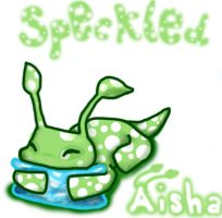 Snoozing Speckled Aisha by miss-manami