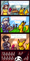 Pika's Magic School Adventure by Bluwiikoon